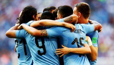 Uruguay conquista la cima del Grupo A; Rusia termina segundo
