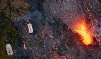 Erupción del volcán Kilauea provoca un temblor de 5.2 grados