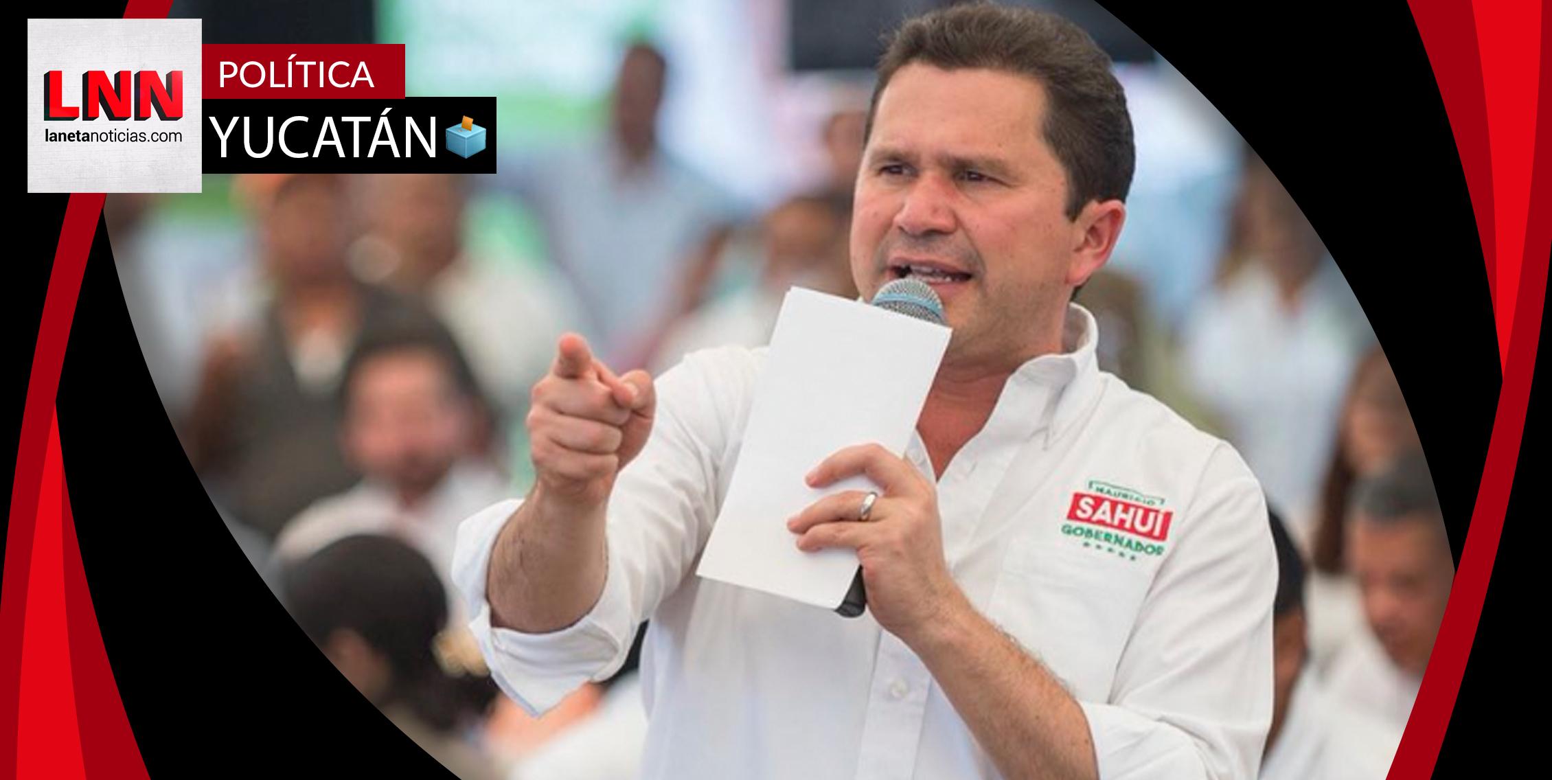 Mauricio Sahuí promete mejorar la atención médica en Yucatán