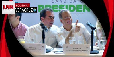 Pepe Yunes ofrece terminar con los problemas de inseguridad en Veracruz