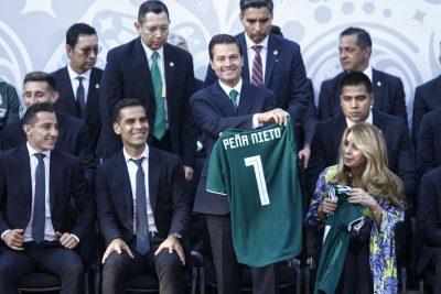 Celebra Peña Nieto que México sea sede del Mundial 2026