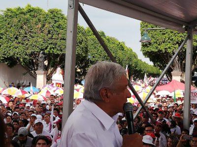 AMLO asegura que arrebatará bastión al PAN en Guanajuato