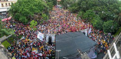 Aclaman a Gayosso como gobernador en Cuernavaca