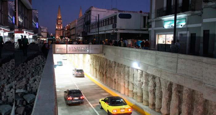 Cerrarán avenida Hidalgo por construcción de puente peatonal en Guadalajara