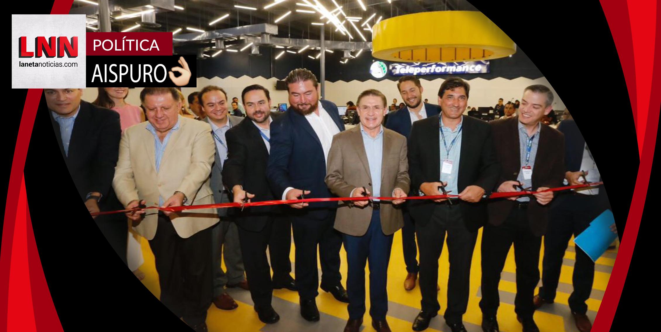 Acude José Rosas Aispuro a la apertura de la empresa TP México