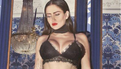 <i>Le quedó chico</i>: Celia Lora casi revienta el bikini con descomunales atributos