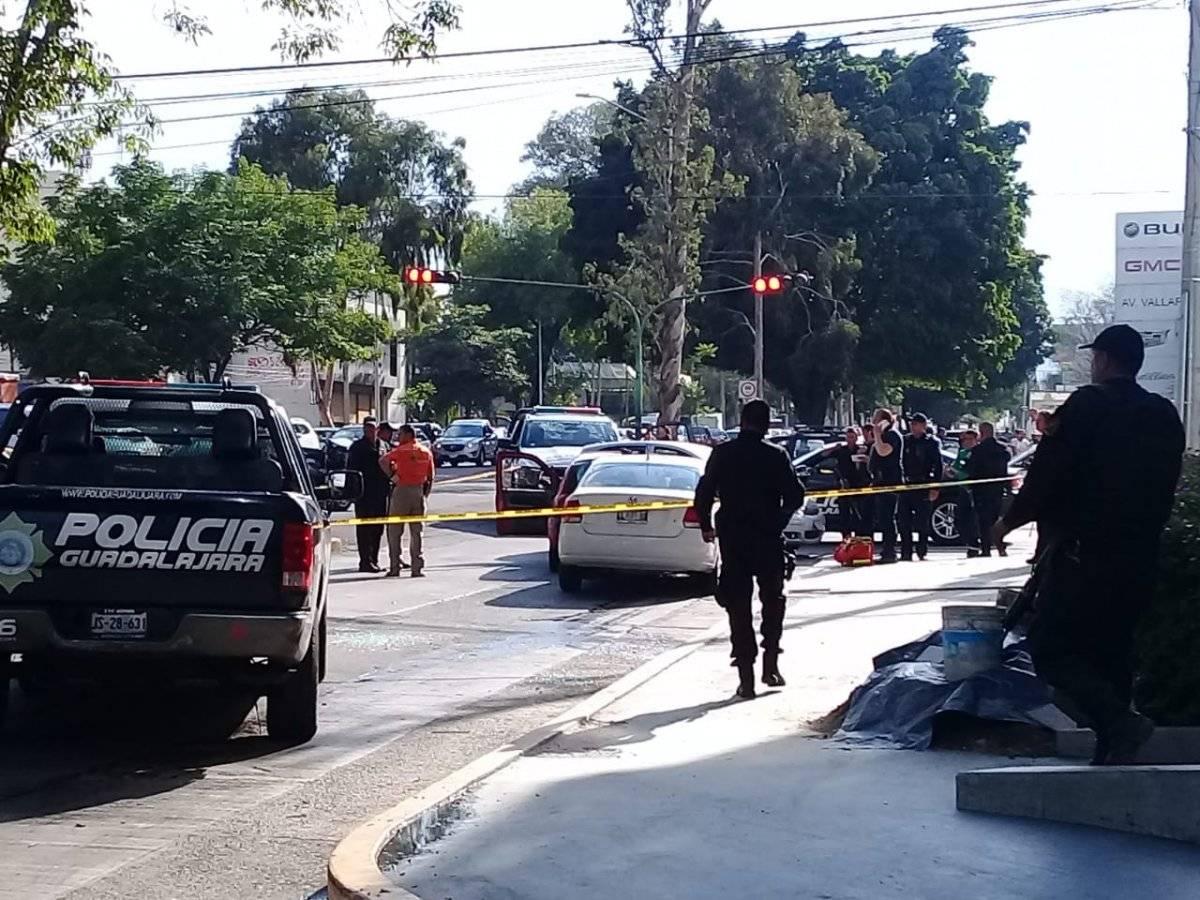 Asalto y balacera en el poniente de Guadalajara