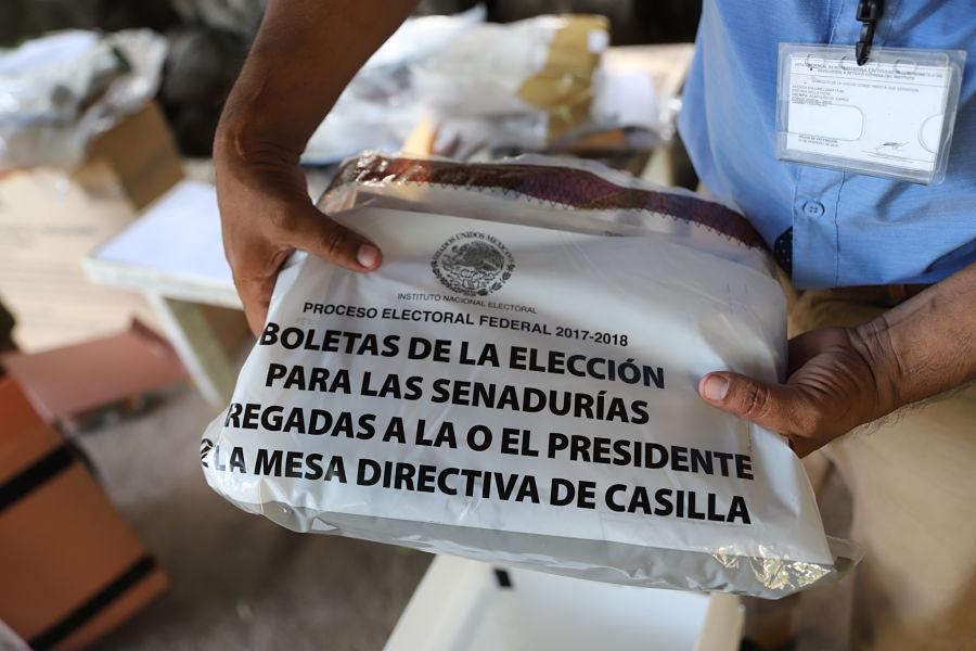 Sujetos armados queman más de 8 mil boletas electorales en Oaxaca