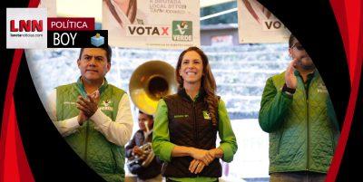 Mariana Boy llama a votar el próximo domingo por el Partido Verde
