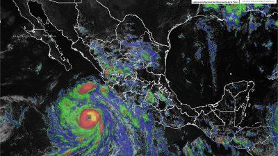 Habilitan albergues en Baja California ante riesgo por huracán Bud