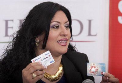 Candidata amenaza a periodista que la acusa de desvíos financieros