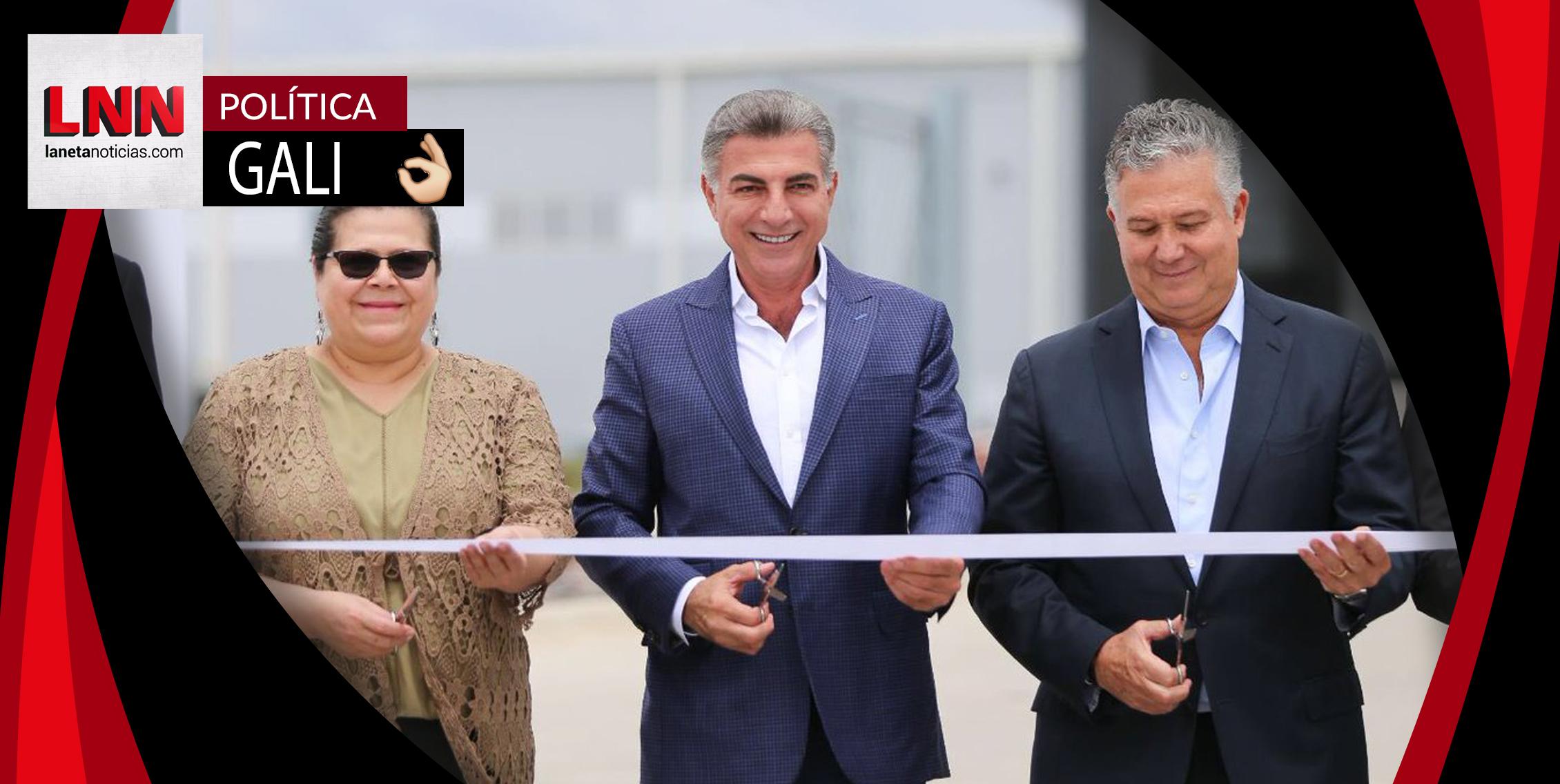 Tony Gali inaugura el Parque Industrial Vesta Park Puebla I