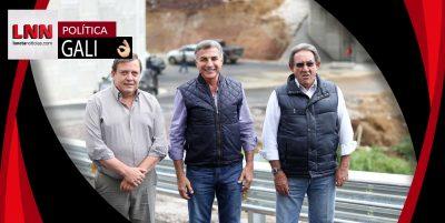 Tony Gali supervisa avances del Libramiento Arco Sur de Teziutlán