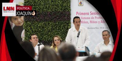 Sociedad y gobierno construiremos un Quintana Roo fuerte: Carlos Joaquín