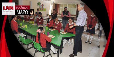 Supervisa Alfredo del Mazo instalaciones de planteles educativos