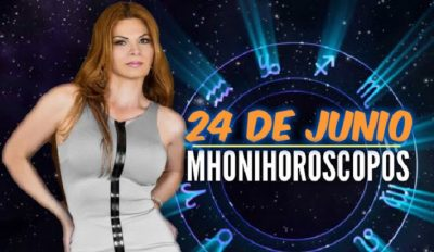 Descubre qué te depara este 24 de junio con los horóscopos de Mhoni Vidente