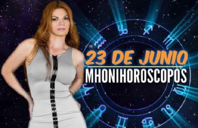 Descubre qué te depara este 23 de junio con los horóscopos de Mhoni Vidente