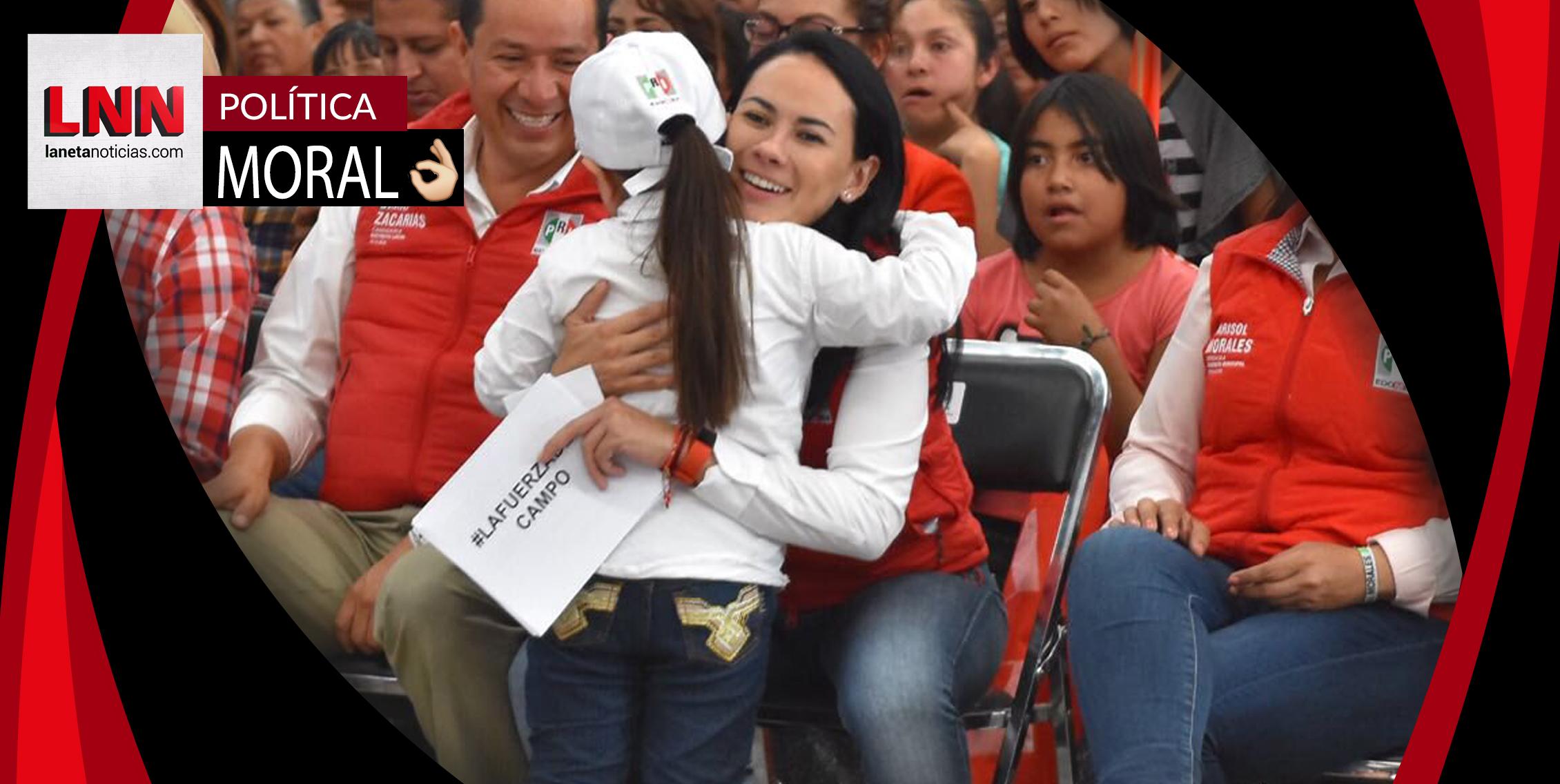 Alejandra del Moral promete a legislar en favor de los derechos de las mujeres