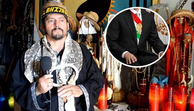 <i>¿Será?</i> Brujo de Catemaco predice al próximo presidente de México