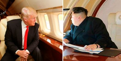 Donald Trump y Kim Jong-Un llegan a Singapur previo a su encuentro histórico