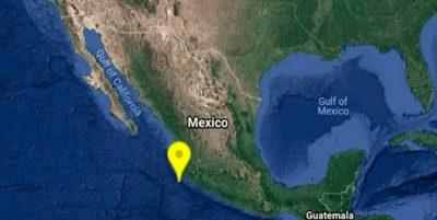 Reportan sismo en Puerto Vallarta, Jalisco