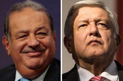 Carlos Slim terminará su vida empresarial en este sexenio: AMLO