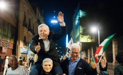 AMLO gana en el extranjero; suma el 65 por ciento de votos