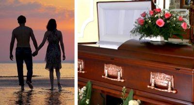 <i>Amor eterno</i>: se entierra viva con su esposo 'para abrazarlo por siempre'