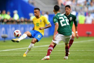 Primer tiempo: México y Brasil empatan 0-0