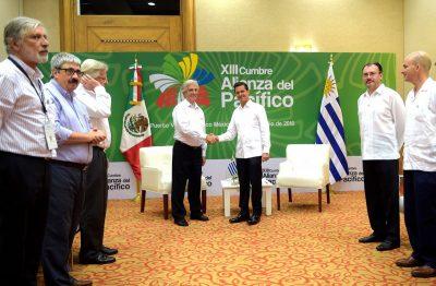México y Uruguay reafirman relación bilateral