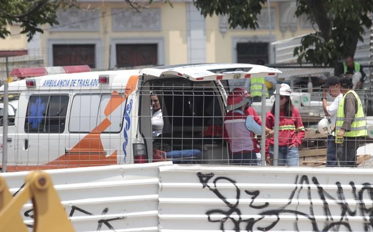 Fallece trabajador en obra de la Línea 3 del Tren Ligero en Guadalajara