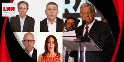 Inversión, empleo y paz, ofrecen empresarios a AMLO