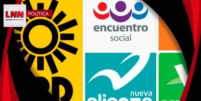 PRD, Encuentro Social y Movimiento Ciudadano perderán su registro: INE