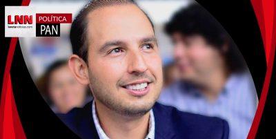 Marko Cortés busca ser el próximo dirigente del PAN
