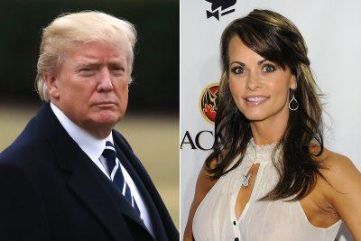 Revelan que Trump habría pagado para callar a modelo Playboy
