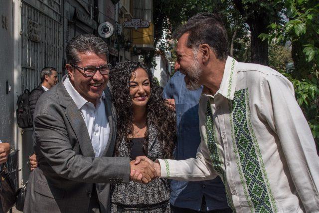 Ricardo Monreal con mayoría de votos será coordinador de Morena en el Senado