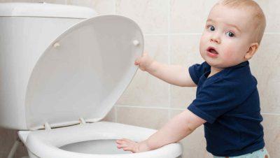 Frecuencia en la que los niños van al baño