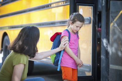 Cuando tu hijo no quiere ir a la escuela