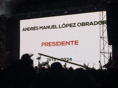 ¡Euforia nacional! Mexicanos acompañan a AMLO al Zócalo capitalino (VIDEO)