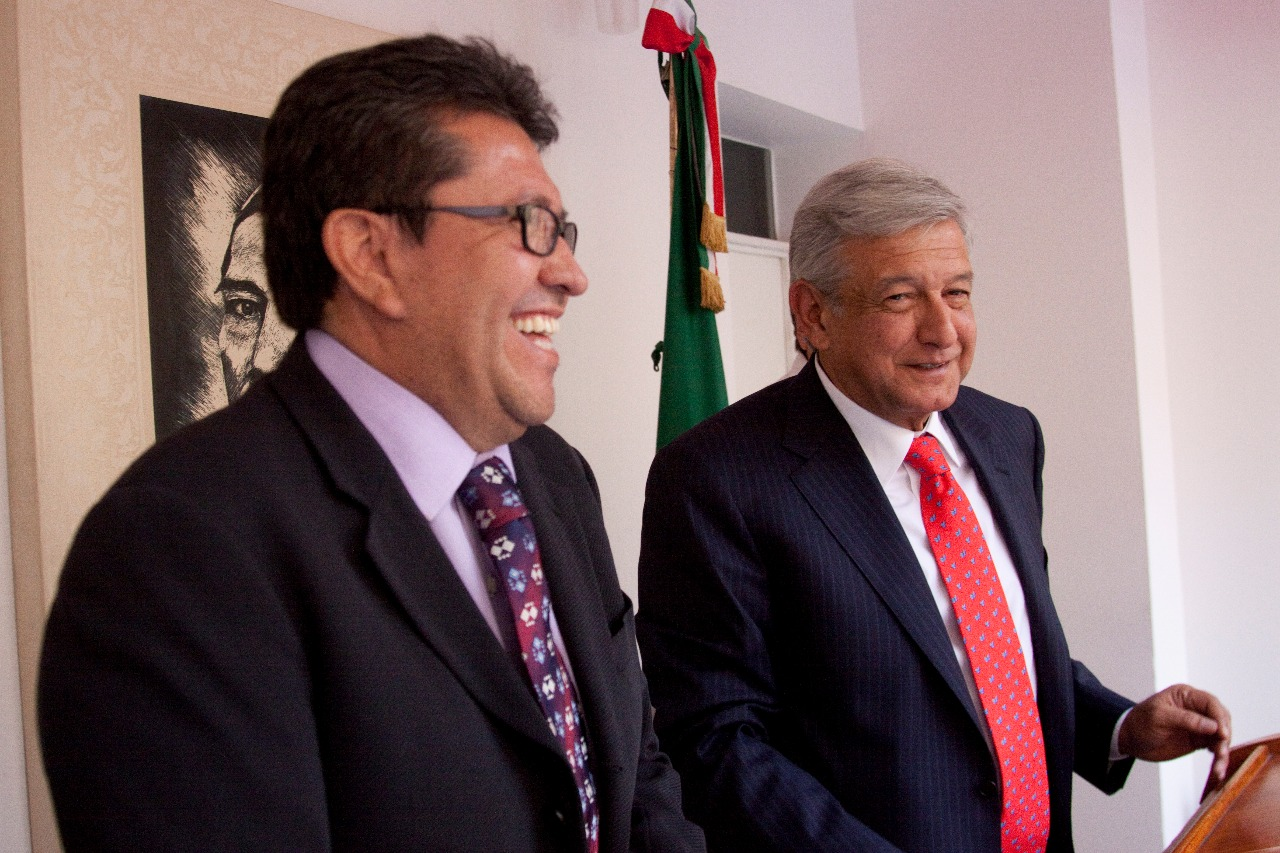 Ricardo Monreal, <i>todopoderoso</i> coordinador de senadores de Morena