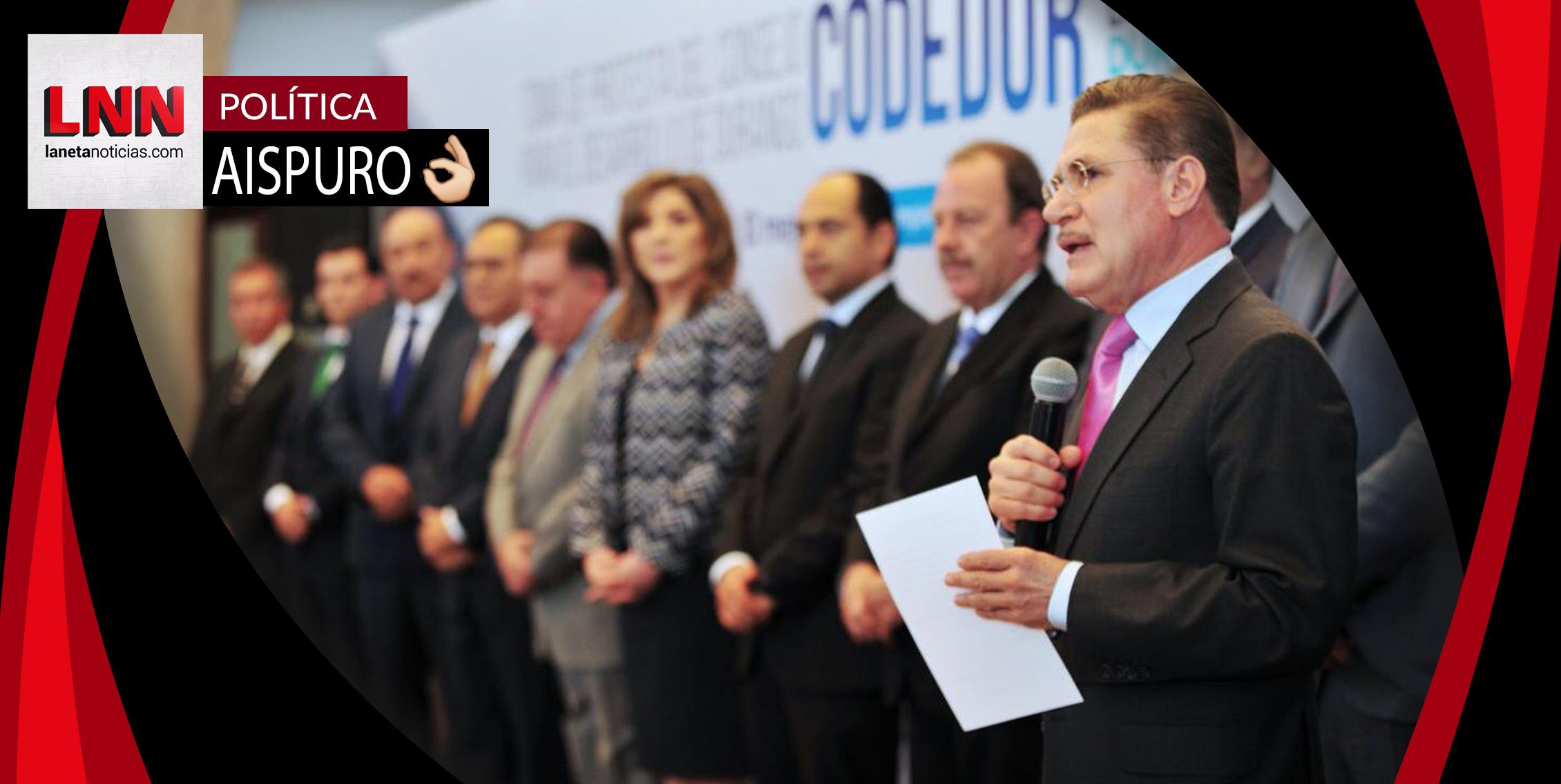 José Rosas Aispuro toma protesta al Consejo para el Desarrollo de Durango