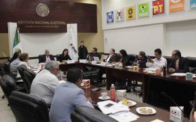 INE entrega constancias a senadores por Jalisco
