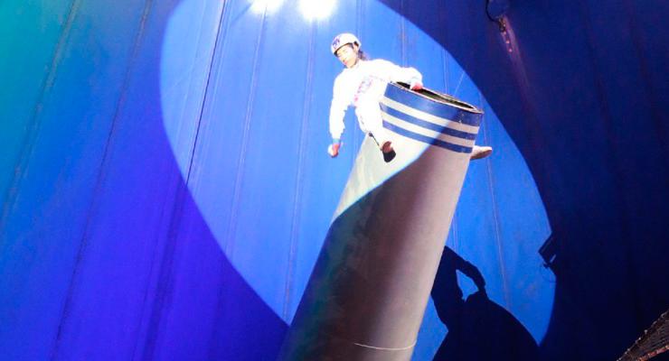 <i>¡Todo un circo!</i>: hombre bala cae por accidente sobre payaso (VIDEO)
