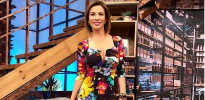 Ingrid Coronado revoluciona redes con atrevido vestido con transparencias (FOTO)