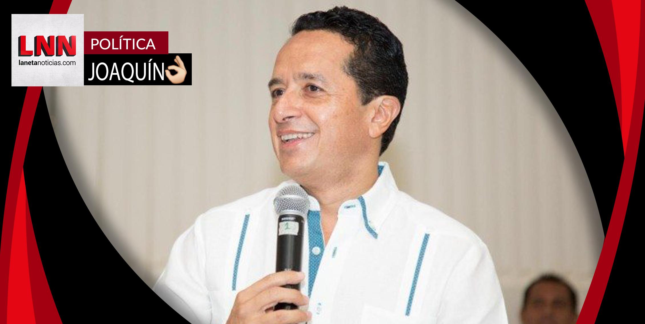 Carlos Joaquín ofrece a AMLO un plan de transporte
