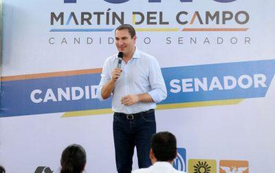 Moreno Valle promete apoyar a AMLO desde el Senado