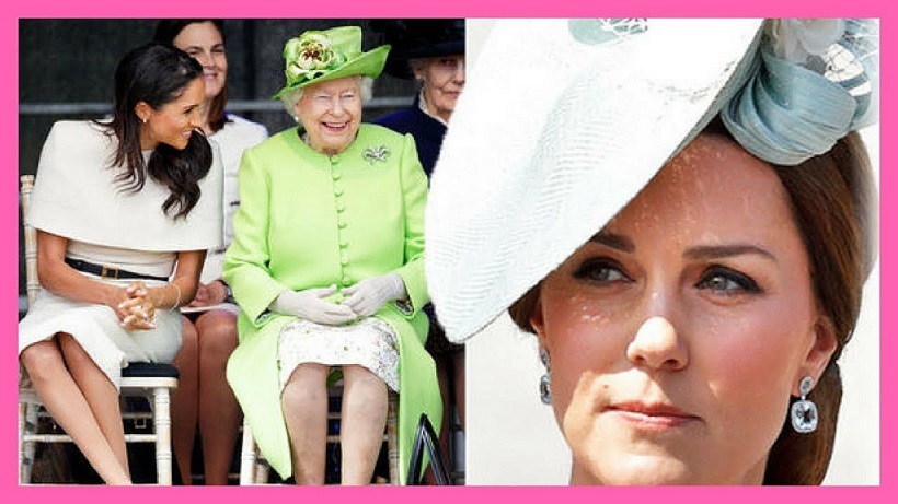 <i>Favoritismo real</i>: aseguran que Meghan es la consentida de la reina Isabel