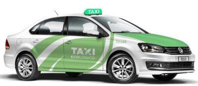Unión de Taxistas ofrecen viajes gratis para dar a conocer sus unidades híbridas