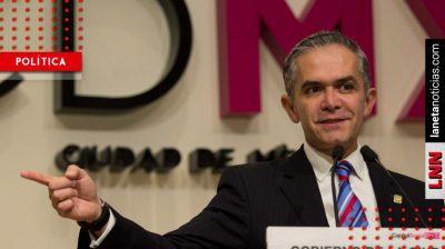 <i>Yo no fui</i>: Mancera niega estar detrás de nuevo periódico anti-AMLO
