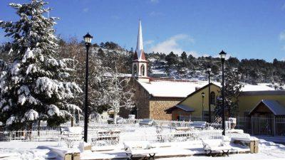 Creel, pueblo mágico donde la nieve pinta de blanco las montañas mexicanas